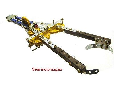 Modelix 017 - Garra Mecânica 2 eixos de movimento sem motorização