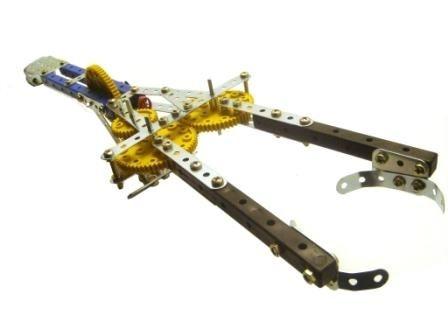 018 - Garra Mecânica 2 eixos de movimento com motorização