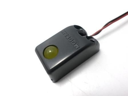 265 - Dispositivo LED Amarelo 10mm