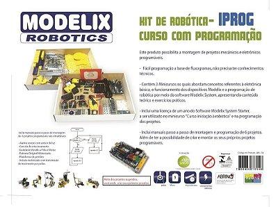 Modelix 489 - Kit de Robotica Modelix -  F4 -  IPROG