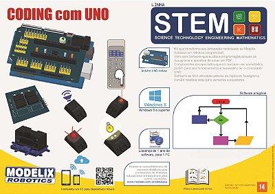 Modelix 497  - Coding com Uno - Linha STEM
