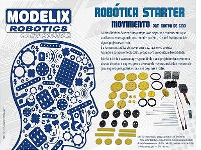 Modelix  304 - Starter Movimento com motor de giro
