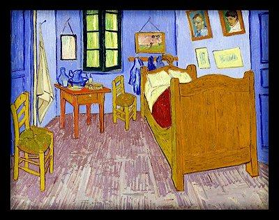 Quadro Decorativo Van Gogh's Perspective Detective