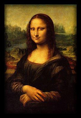 Quadro Decorativo Mona Lisa