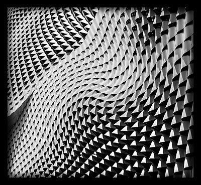 Quadro Decorativo Geométrico Ondas