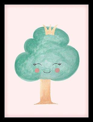 Quadro Decorativo Infantil Árvore