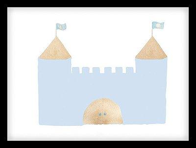 Quadro Decorativo Infantil Castelo