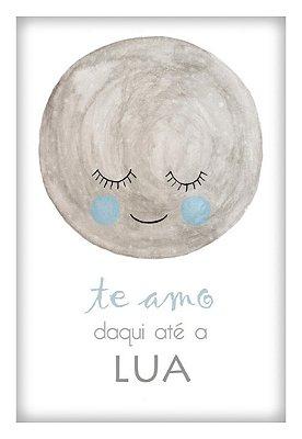 Quadro Decorativo Infantil Lua 1