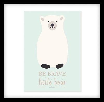 Quadro Decorativo Infantil Urso