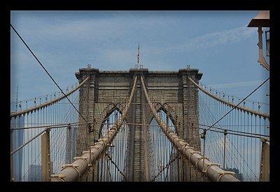Quadro Decorativo Cidades Ponte do Brooklyn