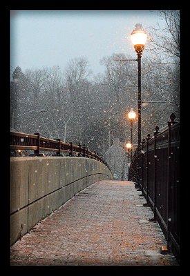 Quadro Decorativo Cidades Neve