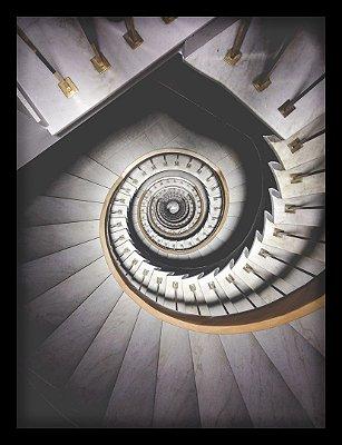 Quadro Decorativo Arquitetônico Escada