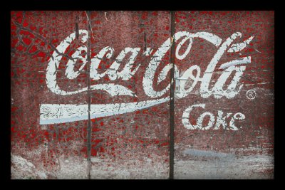 Quadro Decorativo Bebidas CocaCola