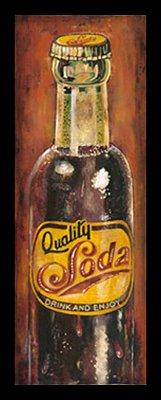 Quadro Decorativo Bebidas Soda