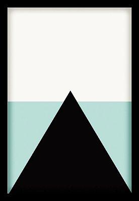 Quadro Decorativo Abstrato Triângulo