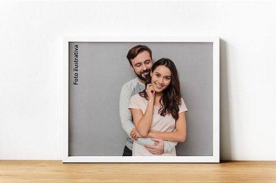 Porta-retrato branco 18x13