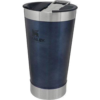 Copo Térmico Stanley Inox Original para Cerveja 473ml Azul