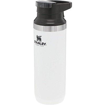 Garrafa Térmica Stanley Inox Parede Dupla Mug 473ml Branco