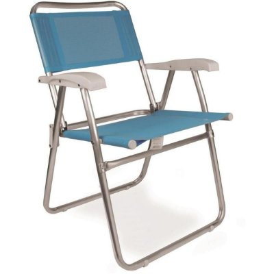 Cadeira Mor Alumínio Reclinável Antiderrapante Boreal Azul