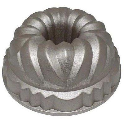 Forma de Bolo Mimo Style Alumínio Formato Coroa 24cm
