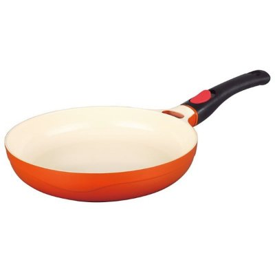 Frigideira Le Cook C/ Cabo Removível Premier Orange 28cm