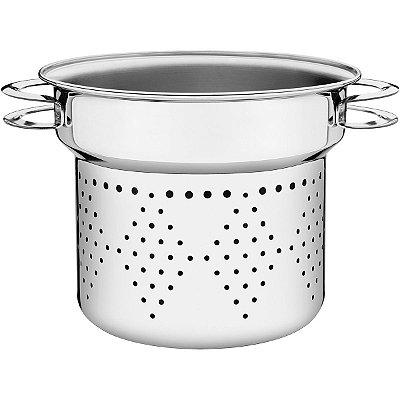 Cozi-Pasta Tramontina Aço Inox Solar 24cm 8L