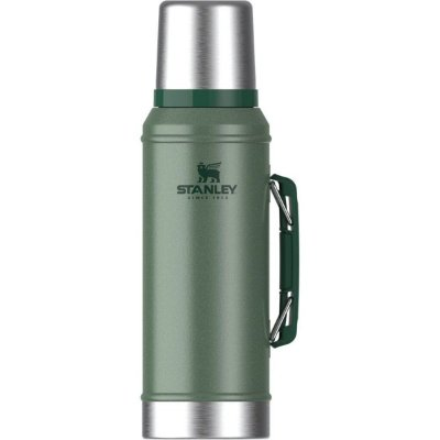Garrafa Térmica Stanley Parede Dupla Classic 946ml Verde