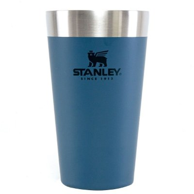 Copo Térmico Stanley Inox P/ Cerveja S/ Tampa 473ml Azul