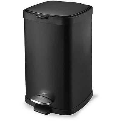 Lixeira Brinox em Aço Carbono 12 Litros com Pedal e Cesto