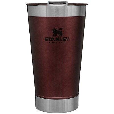 Copo Térmico Stanley Inox C/ Tampa e Abridor 473ml Vinho