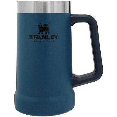 Caneca Térmica Stanley de Chopp Adventure 709ml Azul
