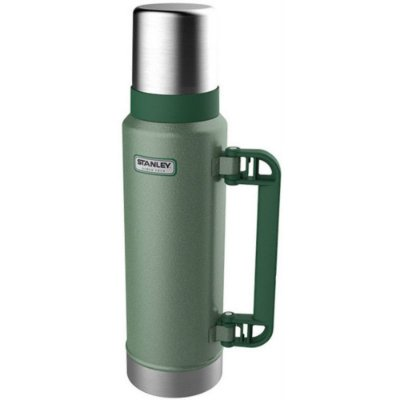 Garrafa Térmica Stanley Inox Parede Dupla C/ Alça 1,3L Verde