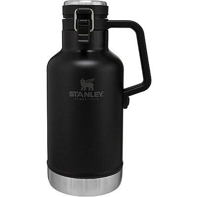 Garrafa Térmica Growler Stanley Aço Inox Classic 1,9L Preto
