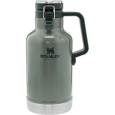 Garrafa Térmica Growler Stanley Aço Inox Classic 1,9L Verde