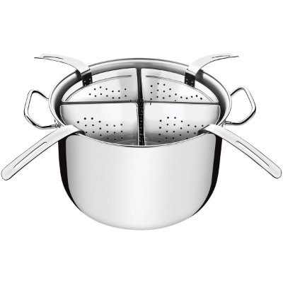 Cozi-Pasta Tramontina Inox Fundo Triplo Professional 5 Pç
