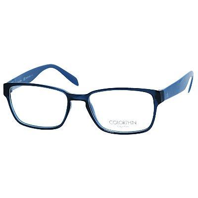 9dd08c2e9904e Oculos de Grau Calvin Klein Feminino CK5463 Azul com Preto ...