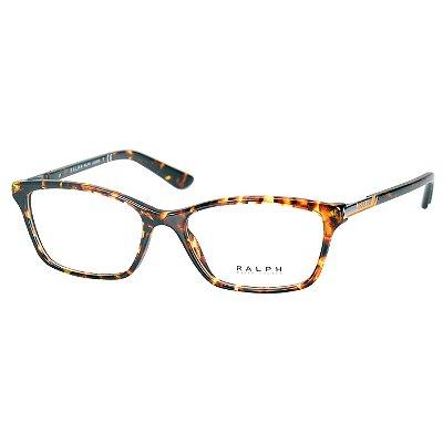 Armação para Oculos de Grau RA7044 Ralph Lauren Marrom Tartaruga Médio  Feminino de88ba51e5