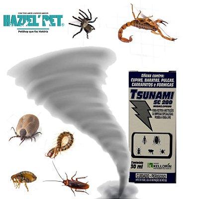 Tsunami inseticida - Dedetização de pulgas Carrapatos escorpiões aranhas cupins insetos em geral