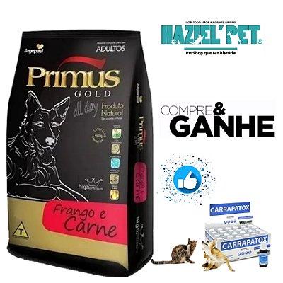 Ração Primus Gold All Day Frango e Carne para Cães - 15Kg