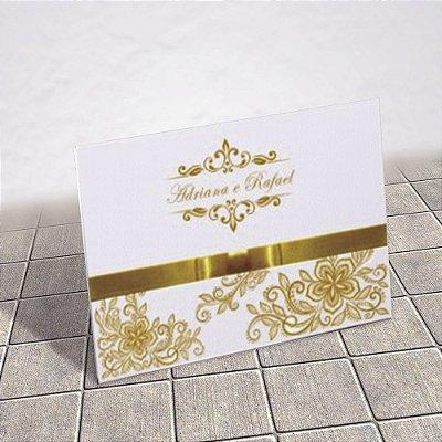 Convite Casamento Clássico Monte Carlo