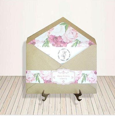 Convites R&Y – Floral Rustic