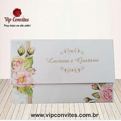 Convite Floral L&G Classic