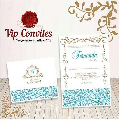 Convite Princesa Clássica