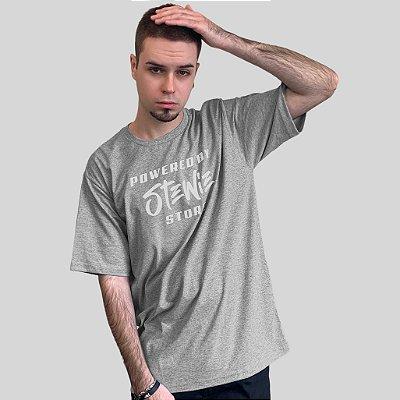 Camiseta Stewie Store Cinza Mescla