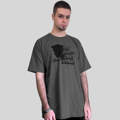 Camiseta Stewie Smoke Criminal Chumbo