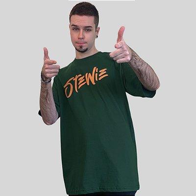 Camiseta Stewie Logo Verde Musgo