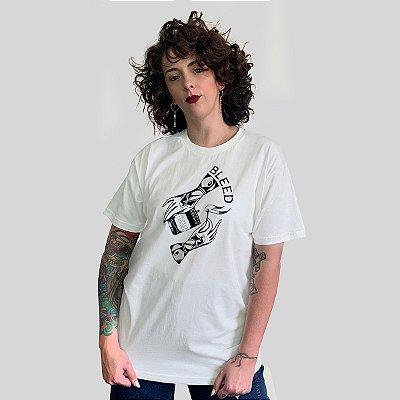 Camiseta Bleed Match Off White