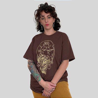 Camiseta Bleed Deepen Marrom