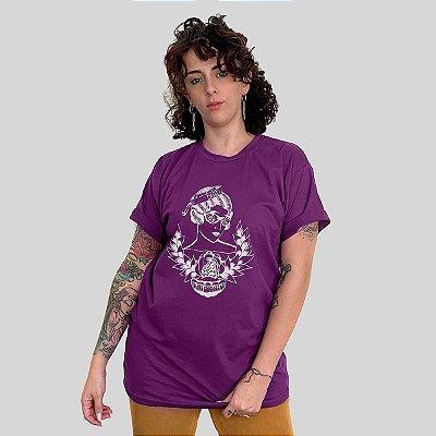 Camiseta Bleed Horizon Roxo
