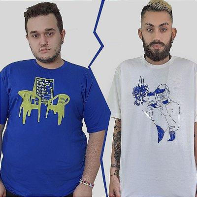 Kit 2 Camisetas Quimera